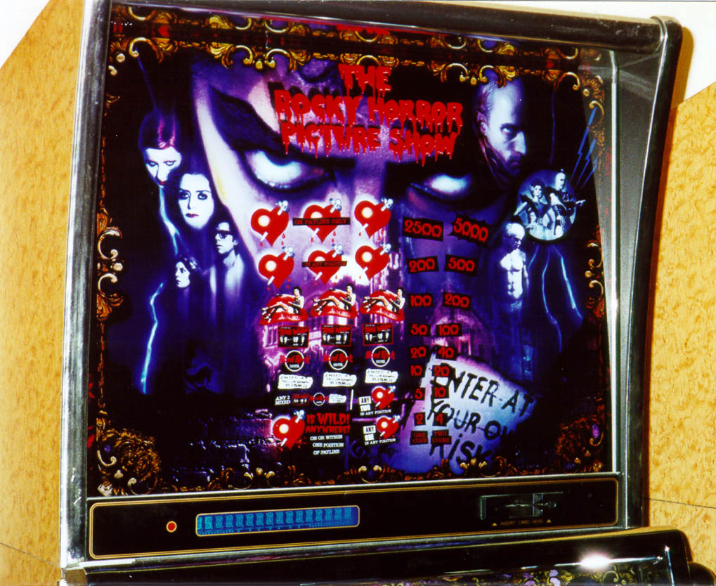 Rocky horror picture show slot machine israel online gambling